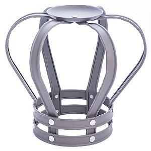 Castiçal Coroa em metal