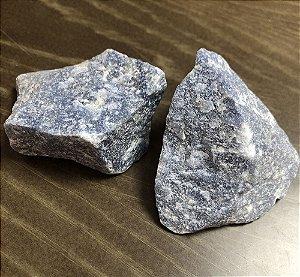 Cj Quartzo Azul bruto 2pçs