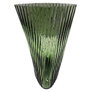 Vaso de Vidro Verde II
