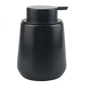Porta Sabonete Liquido Preto
