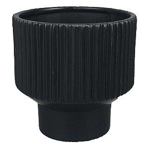 Vaso de Cerâmica Preto I