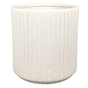 Vaso de Cerâmica Branco II