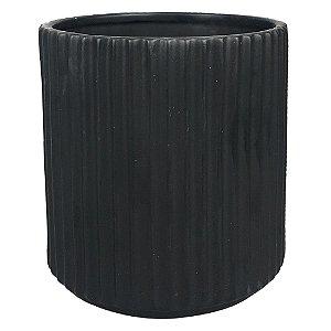 Vaso de Cerâmica Preto II