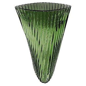 Vaso de Vidro Verde I