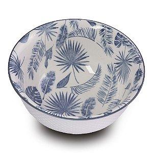 Bowl Folhas Azul M