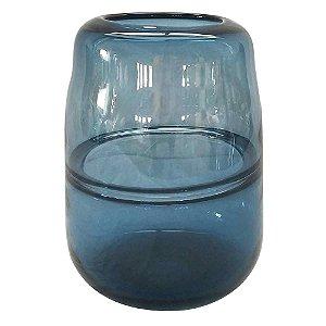 Vaso Diviso Azul M