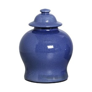 Potiche Safira Azul