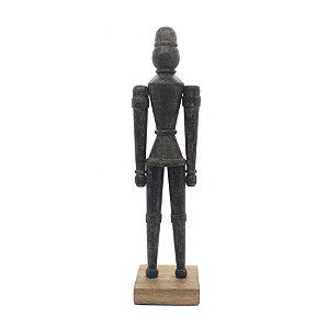 Escultura Sirca Preto