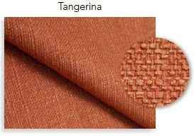 Tecido Salford Tangerina