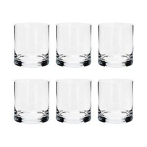 Conjunto Copos para Whisky de Cristal 6 Pçs
