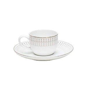 Conjunto Xícaras Café Principessa Della Neve 6 Pçs
