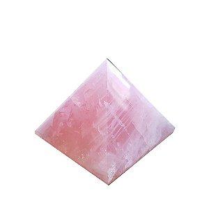 Pirâmide Quartzo Rosa P