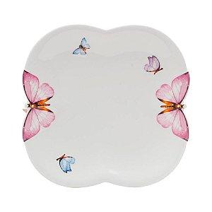 Conjunto Pratos Sobremesa Butterfly 6pçs