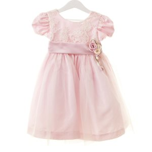 Vestido Renda Rosa