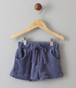 Shorts de Plush azul jeans