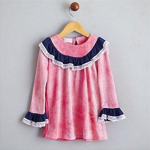 Vestido Favo Rosa