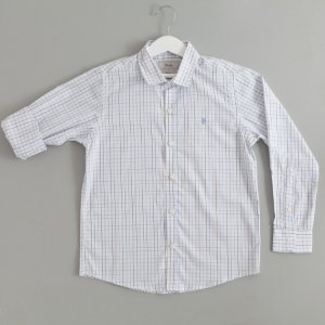 Camisa Xadrez branca