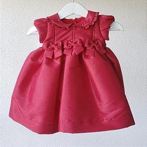 Vestido Bebe vermelho