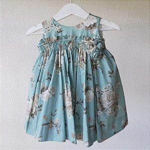 Vestido Bebe azul tiffany
