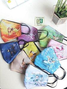 Kit máscaras personalizadas EEVEE - 9 máscaras