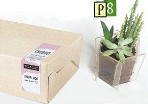 Lacre adesivo para caixa etiqueta embalagem