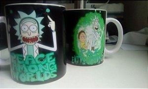Caneca Rick e Mortyn