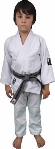 Kimono Checkmat Juvenil Trançadinho Branco