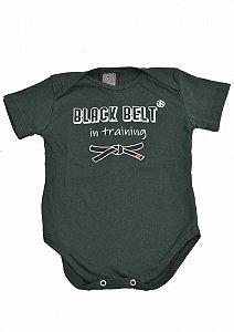 Baby Body Black Belt Verde