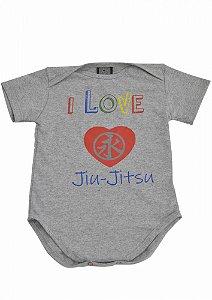 Baby Body Jiu Jitsu Cinza