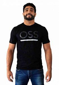 Camiseta Oss Preto
