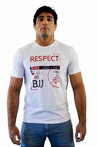 Camiseta Respect Branco