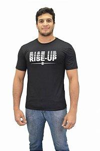 Camiseta Rise Up Preto