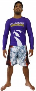 Rashguard Alliance Roxo