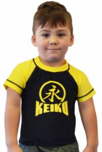 Rashguard Infanto Juvenil Amarelo