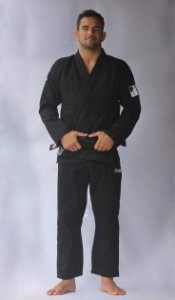 Kimono Checkmat Adulto Ultra Light Preto