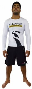 Rashguard Alliance Branco