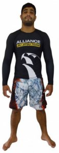 Rashguard Alliance Preto