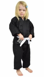 Kimono Infantil Universal Preto