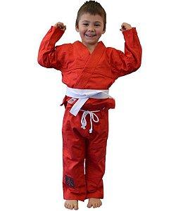 Kimono Infantil Universal Vermelho