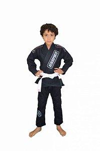Kimono Juvenil Pró Preto