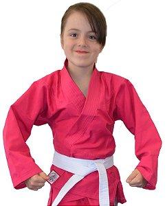 Kimono Juvenil Universal Rosa