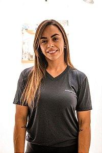 Camiseta Alliance Decote V Dry Fit Preto
