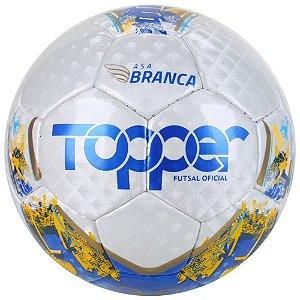 BOLA UNISSEX TOPPER 7053 ASA BRANCA II FTS BRANCO/AZUL/OURO