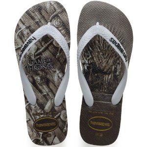 SANDALIA MASCULINO HAVAIANAS GAME OF THRONES CINZA ACO