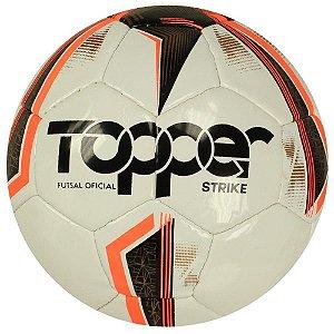 BOLA MASCULINO TOPPER 4203612 STRIKE FSAL BRANCO/AMARELO/PRE