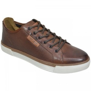 SAPATENIS MASCULINO WEST COAST 187405 CONHAQUE