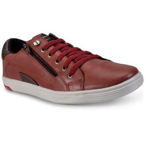 SAPATENIS MASCULINO WEST SHOES 11008 VINHO/CHOCOLATE