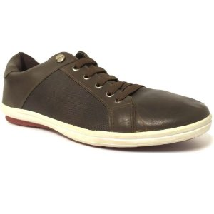 SAPATENIS MASCULINO WEST SHOES 13007 RATO/BROWN