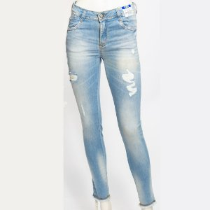 CALCA FEMININO ZUNE 28079 DENIM