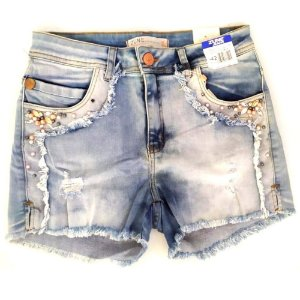 SHORT FEMININO ZUNE 25905 DENIM